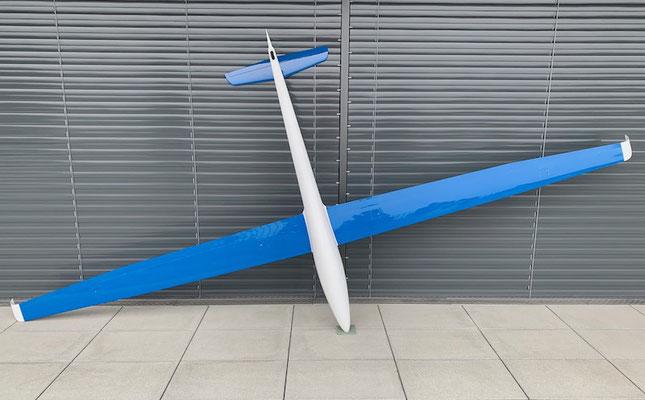 """Fertiges Modell mit 4.28m Spannweite """"Unterseite"""""""