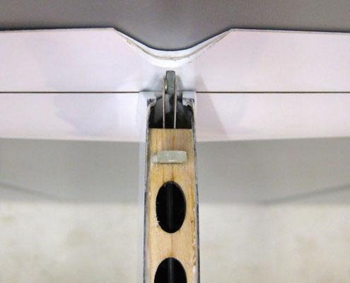 Detail Anlenkung Höhenruder