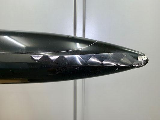 """Rumpf, Cfk-Motorspant-/Antrieb und Propeller mit Spinner """"Montiert"""""""