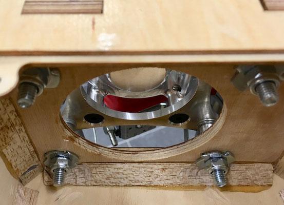 Rumpf, Detail Antriebsbefestigung