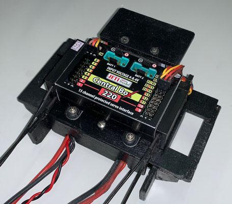 """Rumpf, RC-Komponenten-und Akkuhalterung """"Erstellt"""""""