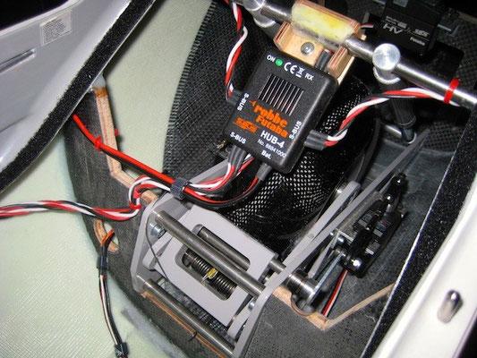 Montage S-BUS Hub 4-Verteiler