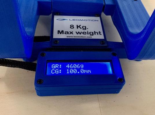 Gesamtgewicht und CG / Schwerpunkt