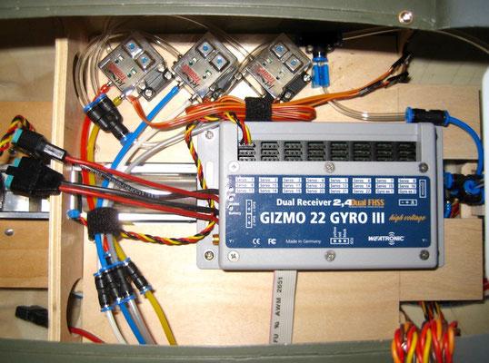 """RX-Weatronic-/elektronische Ventile mit Druckleitungen """"Montiert"""""""