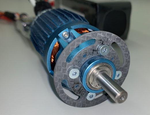 Rumpf, Neuer (passender) Cfk-Motorspant 42mm