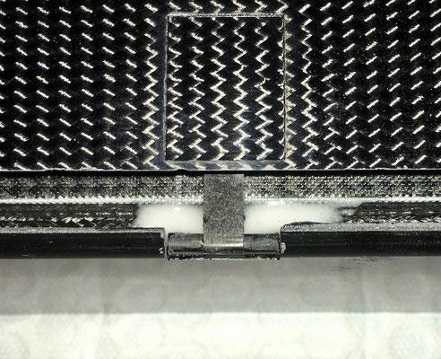"""Tragfläche > Ruder-/Klappen, IDS-Anlenkung-/Servo """"Detail Ruderhornmontage"""""""