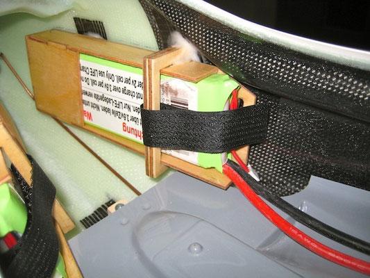 RX-Akkuhalter mit Akku