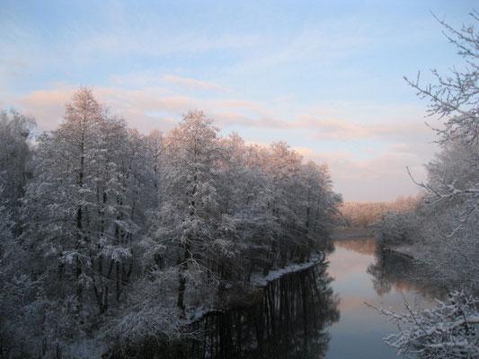 Templiner Kanal Winter 2015.