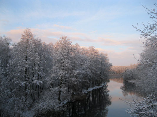 Templiner Kanal Winter 2015.