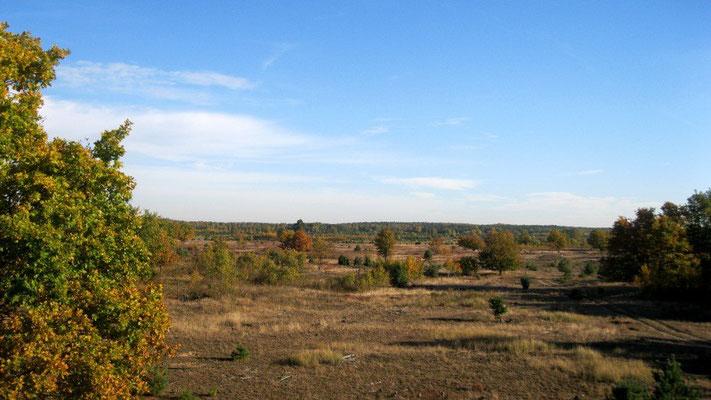 Ehemaliges russisches Militärgebiet hinter Röddelin.
