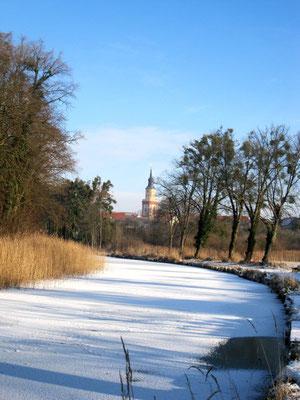 Templiner Kanal Winter 2016.