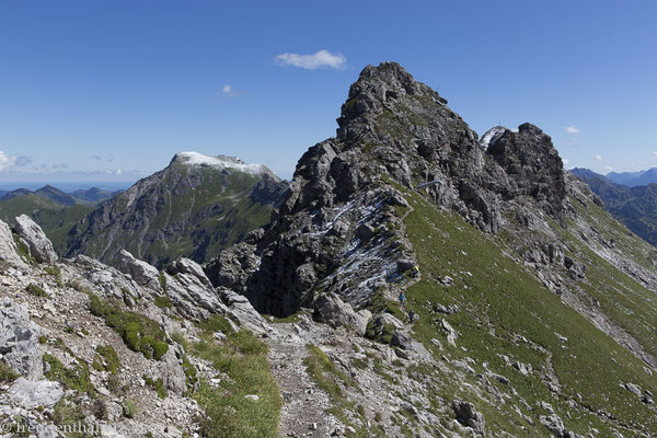 Gipfel der Daumengruppe im Allgäu