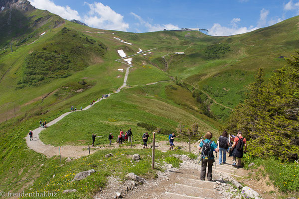 Wanderweg am Fellhorn