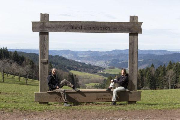 Bildschön - der Vesperweg bei Zell am Harmersbach