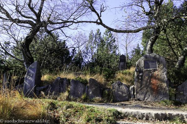 Das Euting-Grab auf dem Seekopf