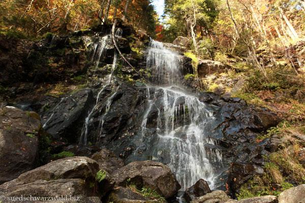 Zweribach-Wasserfälle im ZweiTälerLand
