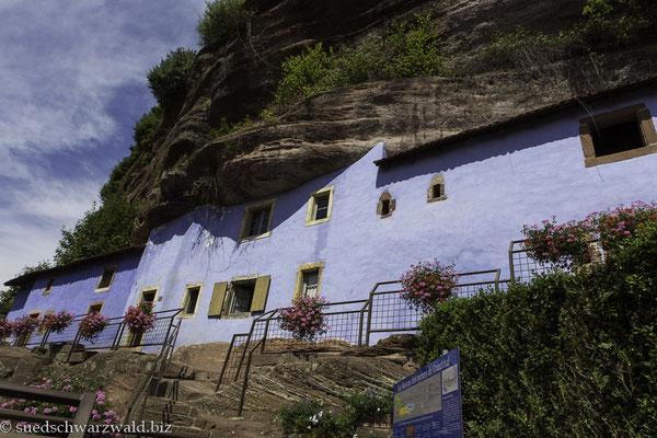 Felsenhäuser von Graufthal