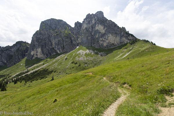 Wanderweg unterhalb des Aggenstein