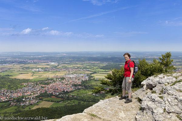 Aussicht vom Breitenstein