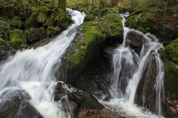 Wasserfall bei der Ruine Wieladingen