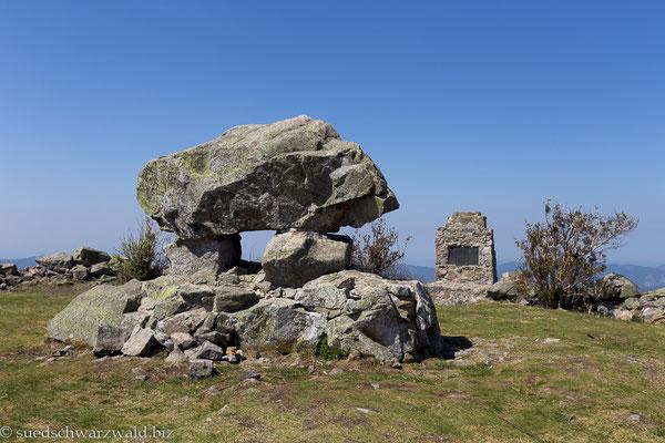 Denkmal auf dem Hinterwaldkopf
