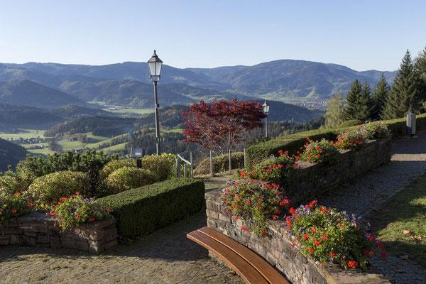 Blick vom Lindenberg ins Ibental