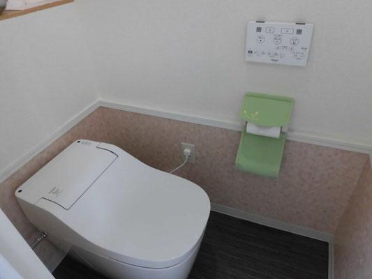ミソラ治療室のトイレ内の写真