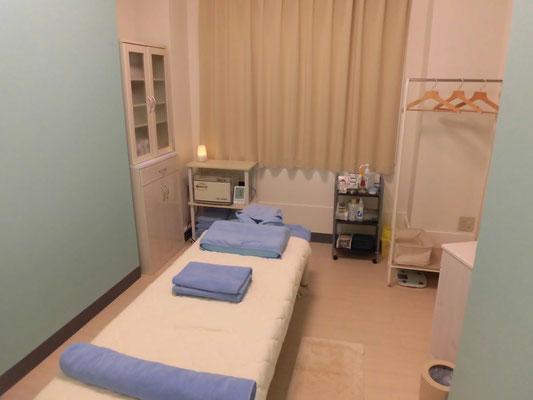ミソラ治療室の施術室内の写真