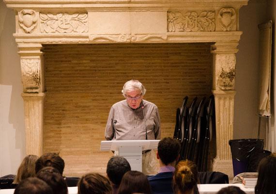 Jean-Pierre Toussaint, père d'Olivier Toussaint (Photo Elena Landmann pour FCAO)