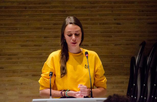 Mélanie Lercier, lauréate de la bourse 2018 (Photo Elena Landmann pour FCAO)