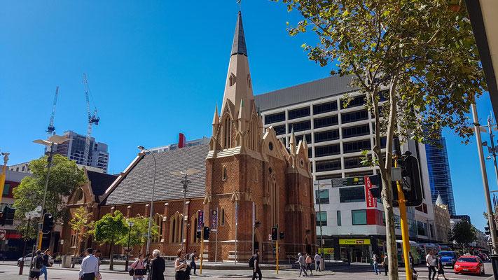 schöne Kirche in Perth