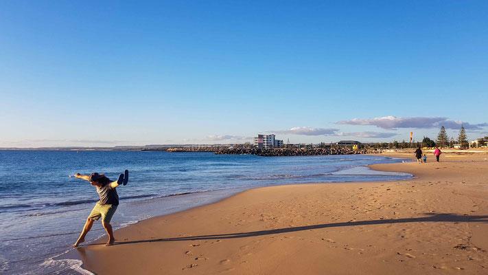Geraldton liegt direkt am Meer