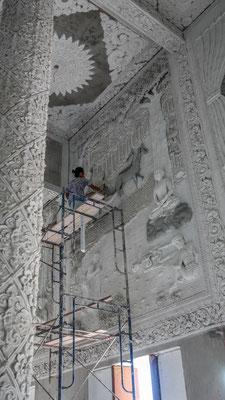 alles Handarbeit - Wat Huai Pla Kung Temple