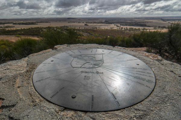 Aussicht vom Kokerbin Rock