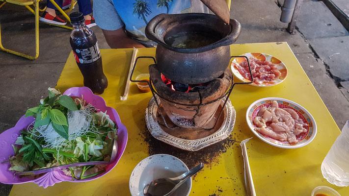 Hot pot - thailändisches Chinoise