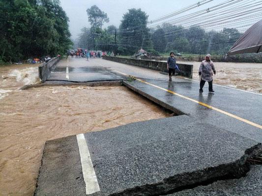 ... die Brücke Region Klong Phrao leider nicht.