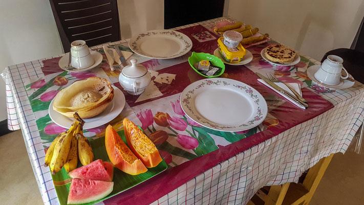 Unser Frühstück - wer soll das alles essen?!