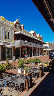 Cappuccino-Strip in Fremantle