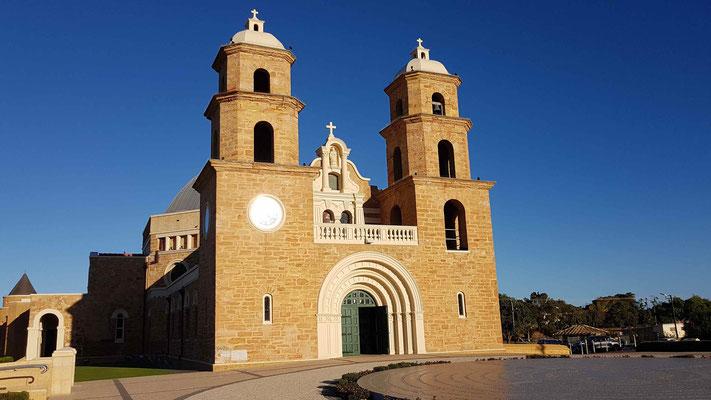 Schöne Kathedrale in Geraldton