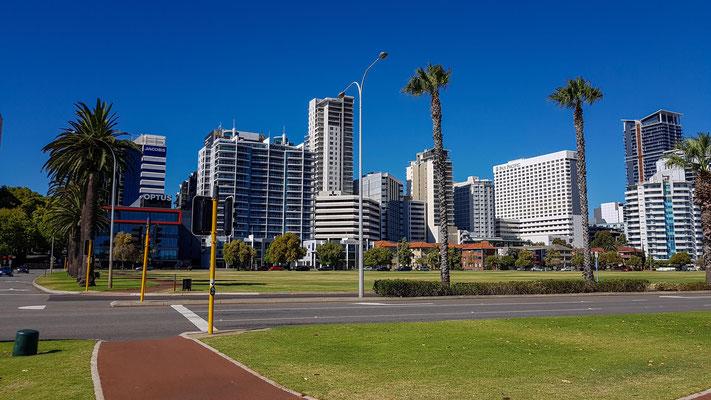 Skyline von Perth