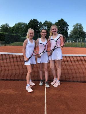 Von links nach rechts: Mia Heseding, Jette Hafermann, Sara Helene Germann