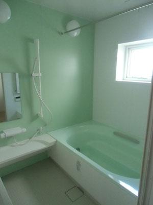 爽やかな浴室