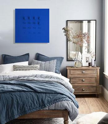 Nobahar-Design-Milano-Contemporary-3dPrinted-artwork-wallpanel-blue-interiordesign