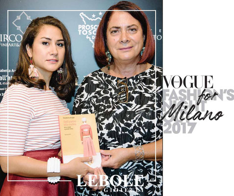 nobahardesign milano contemporary jewelries with elisabetta arrighi on vogue fashion nights
