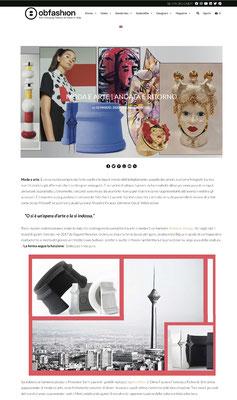Moda e Arte - nobahardesign milano contemporary design jewelries