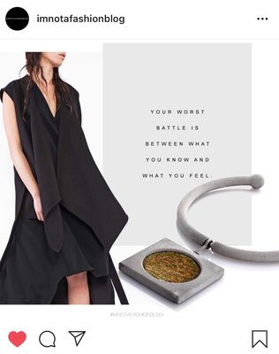 Nobahar Design Milano contemporary jewelries on I am not a fashion blog collages