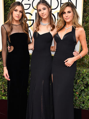 Sylvester Stallone's daughters - SISTINE, SCARLET & SOPHIA in  Messika Paris and Bulgari