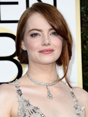 EMMA STONE in Tiffany & Co