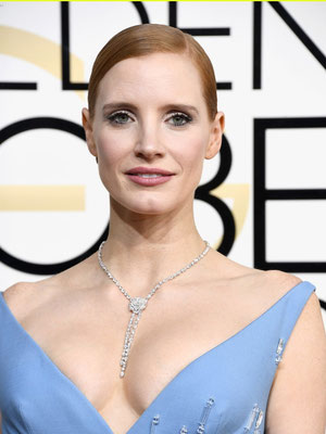 JESSICA CHASTAIN in Piaget