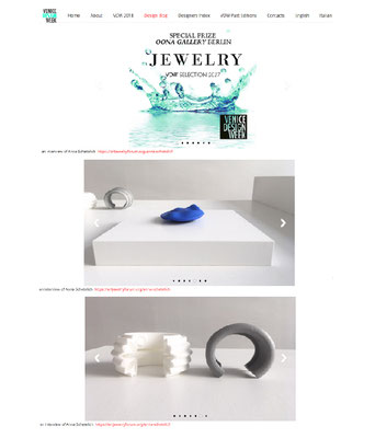 Nobahar Design Milano, contemporary jewelries at Oona Gallery in Berlin
